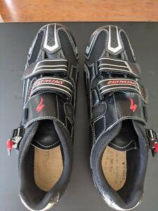 Specialized Men's Elite Carbon Cycling Shoe Black EU 45 US 12 Used