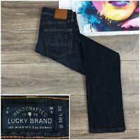 Men's Lucky Brand 221 Original Straight Fit Jeans Size 30x32 Dark Wash