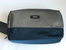 "Tumi Karen Large Pouch Cosmetic Travel Case 5""x 8""x 3.25"""