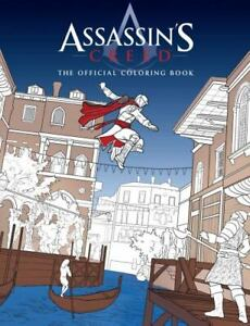 Assassin's Creed: The Official Coloring Book - Paperback - GOOD