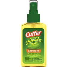 CUTTER lemon Eucalyptus plant based insect repelent 4oz mosquito tick 4floz