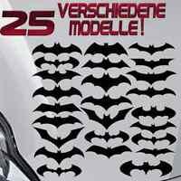 FLEDERMÄUSE AUFKLEBER  IN SCHWARZ - 25 STÜCK - Batman