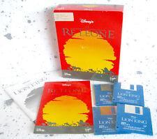 IL RE LEONE (1994) AMIGA GAMES © DISNEY VIRGIN - VINTAGE