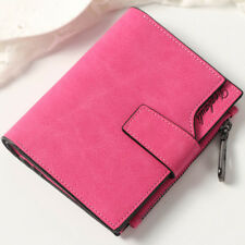 Women Girls Credit/ID Credit Card Holder Coin Purse Wallet Pockets Short Wallet