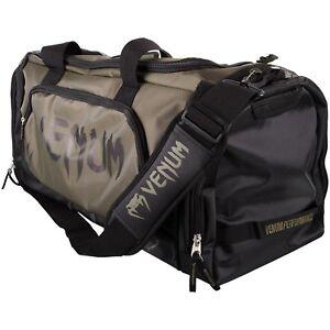 Venum Trainer Lite Sport Bag Khaki/Black, Sporttasche, Kampfsport, Freizeit, MMA