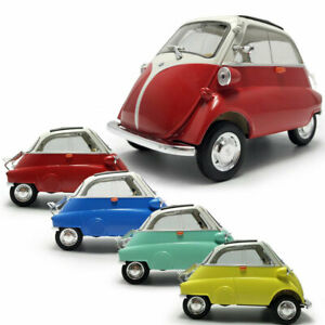1/18 Scale Vintage 1955 BMW Isetta Model Car Diecast Vehicle Collection Display
