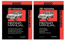 2000 Toyota 4-Runner Shop Service Repair Manual