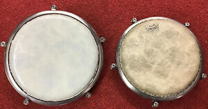Pair of Pearl Travel Congas - Vintage