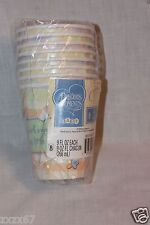 NEW PRECIOUS MOMENTS BABY SHOWER SQUARES 8 CUPS PARTY SUPPLIES