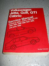 1993_1999  VW GOLF JETTA GTI  SERVICE MANUAL SHOP VR6 _2.0_DIESEL_TDI