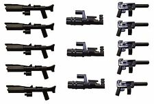 LEGO / Little Arms Star Wars 13-teiliges Waffen-Set Minigun Blaster *155