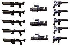 LEGO / Little Arms Star Wars 13-teiliges Waffen-Set Minigun Blaster *155