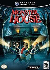 Monster House (Nintendo GameCube, 2006) COMPLETE GAME BOX MANUAL NES HQ