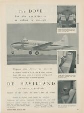 1953 De Havilland Aircraft Ad Dove Miniature Airliner for the Executive Photos