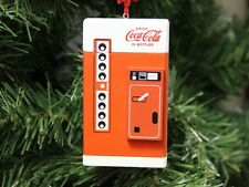 Coke, Coca Cola Vending Machine Christmas Ornament