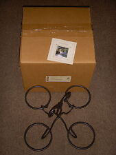 Longaberger Metalworks Wrought Iron Dessert Bowl Caddy - Absolutely New in Box!