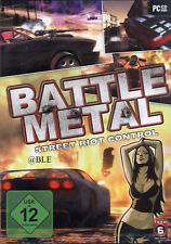 CD-rom + Battle METAL + street riot control + speed action shooter + win 7 +