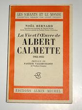 ALBERT CALMETTE 1863-1933 Nice Médecine Vaccination contre la tuberculose BCG
