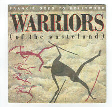 "FRANKIE GOES TO HOLLYWOOD Vinyle 45T 7"" WARRIORS Of The Wasteland ISLAND 108615"