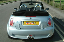 Milltek Sport Cat-Back Non-Resonated Exhaust MINI Convertible R52 Cooper S & JCW