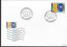 FDC 10/1/01 Germany,