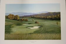 The Fifth at Eagles Landing by Steven Spangler Tennessee artist Golf Course