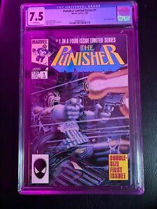 The Punisher #1 (Jan 1986, Marvel) CGC 7.5