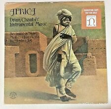 Africa (1976 Promo Vinyl LP Playtested H-72073) Drum, Chant & Instrumental Music