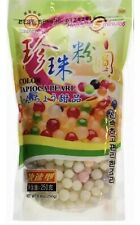 Wufuyuan Color Tapioca Pearls Boba Bubble Tea Ready in 5 Minutes Net Wt. 8.8 Oz