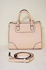 WOMEN'S FASHION FOWARD LIGHT PINK SMALL TOTE HAND BAG WITH STRAP ON SALE