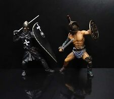 lot 2 BBI Warriors of the World Roman Hospitaller Knight  Roman solider figures