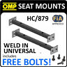 HC/879 OMP WELD-IN UNIVERSAL SEAT RAILS MOUNT SUBFRAME for BUCKET RACE SEATS