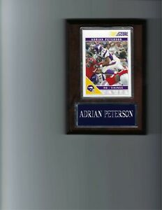 ADRIAN PETERSON PLAQUE MINNESOTA VIKINGS FOOTBALL NFL   C