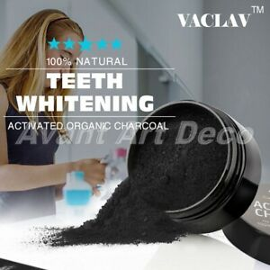 Activated Charcoal Powder Natural Organic Teeth Whitening Toothpaste Food Grade