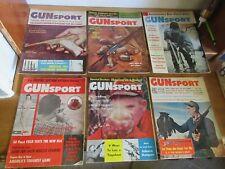Lot of 12 Gun Sport Magazines 1958-1965 Hunting Rifle Handgun Shooting Vintage +