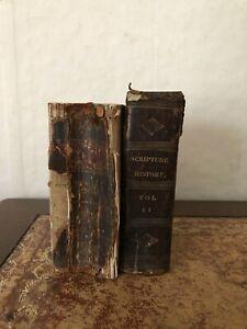 2 x Small Quarto Books with 288 Religious Scene Plates - See Below