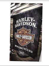 HARLEY DAVIDSON MOTORCYCLE 13 x 18 GARDEN FLAG BIKE WEEK WALL ART POSTER