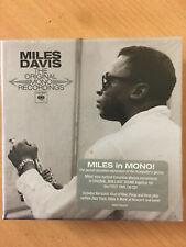 MILES DAVIS Original Mono Recordings 9-CD SET MINT Columbia Kind of Blue 2013