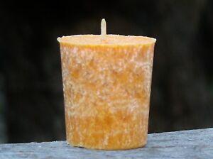 160 hour 8 pack CITRONELLA & GRAPEFRUIT VOTIVE Candles MOZZIE & TICK REPELLENT