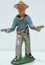 Soljertoy Hollow Cast Lead Cosmo C3 Cowboy Shooting Two Pistols 93%