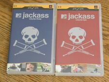 Jackass Volume Two & Three Sony PlayStation PSP Videos