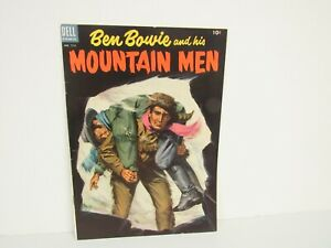 Dell-1953 #513-Ben Bowie And His Mountain Men-Four Color Cover-Comic-VF/NM