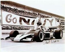 ~Salt Walther (deceased) autographed signed 1977 NAVY  Indy 500 8X10 photo~