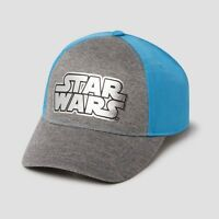 Kids Star Wars Baseball Hat - Gray/Blue One Size