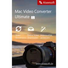 Video Converter Ultimate 9 MAC Aiseesoft Download Familienlizenz Lifetime(5PCs)