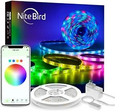 NiteBird 5050 LED WiFi Smart Strip Lights Works with Alexa Google Home 16.4ft