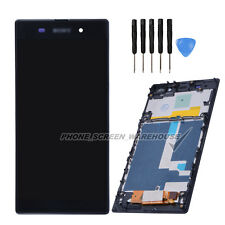 LCD Display Touch Screen Digitizer Frame For Sony XPERIA Z1 L39h LT39H Assembly