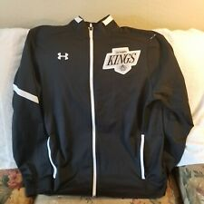 LOS ANGELES KINGS TRACK JACKET - XL - UNDER ARMOUR - THROWBACK