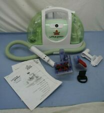 BISSELL LITTLE GREEN COMPACT CARPET CLEANER model 14005 PORTABLE