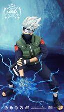 (U) 1/6 Inflames Toys RM003 Ninja Storm Ver 2.0 Naruto Kakashi Hatake Figure